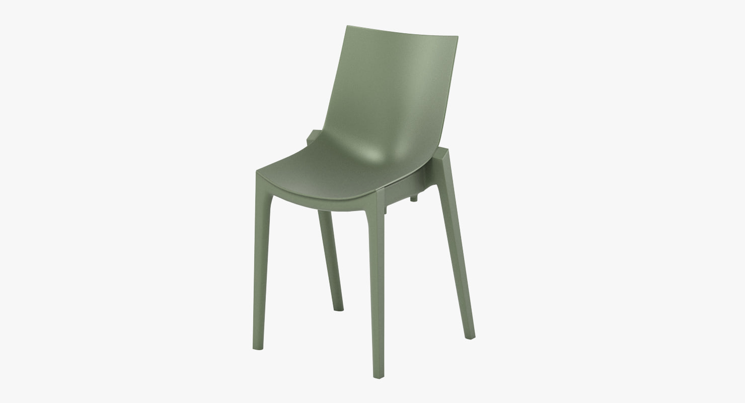magis zartan basic chair 3d model