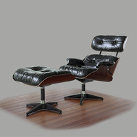Eames Lounge Chair - PBR Game Ready
