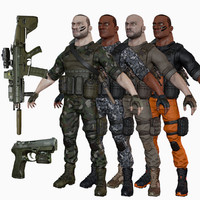 3d ready soldier lods options