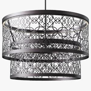 arramore pendants 24 light 3d model