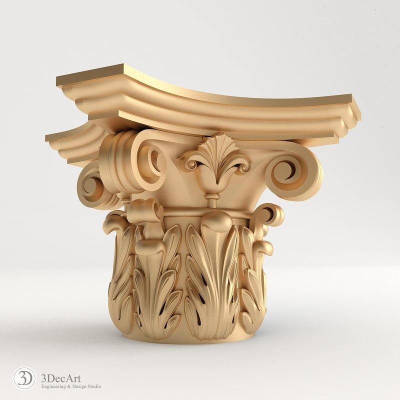 decorative capitals max