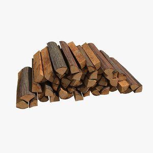 3ds firewood pile