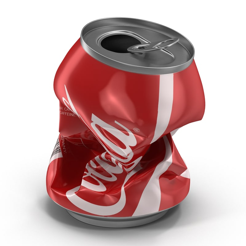 3ds crushed soda 3 coca cola