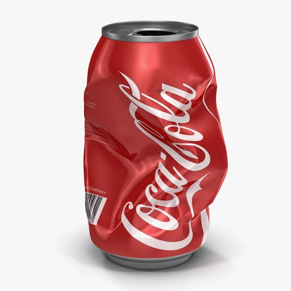 crushed soda coca cola max