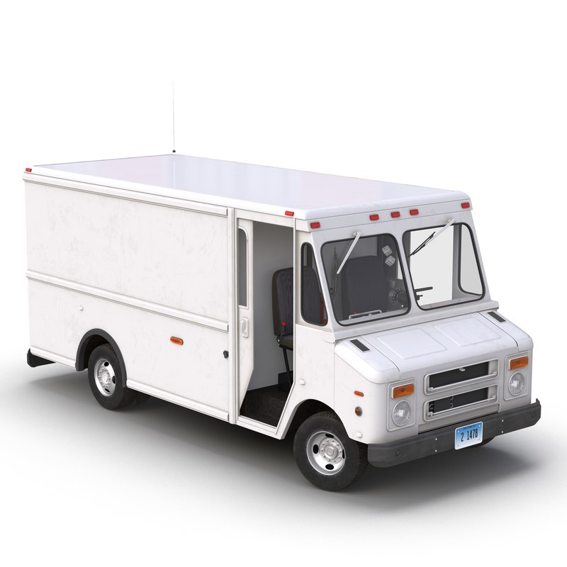 max post office truck rigged