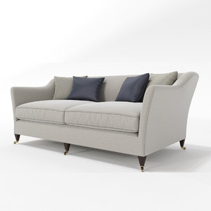 3d model roseuniacke drawing room sofa