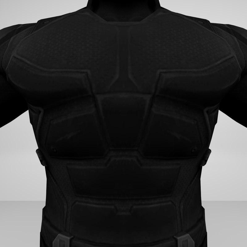 armored man shadow 3d model