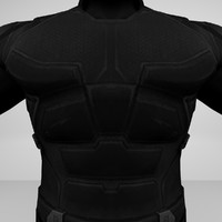 armored man shadow 3d model