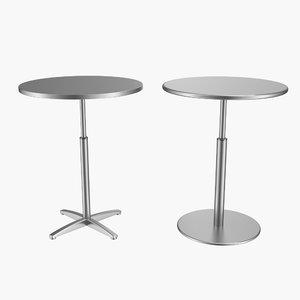 table bistro 3d model
