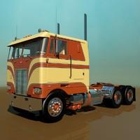 3d model 352 semi truck
