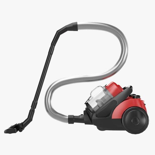 modern vacuum cleaner clean obj