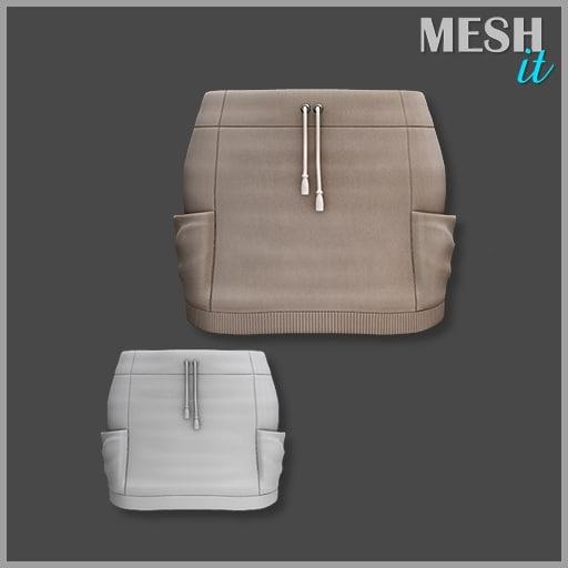 skirt pocket 3d model