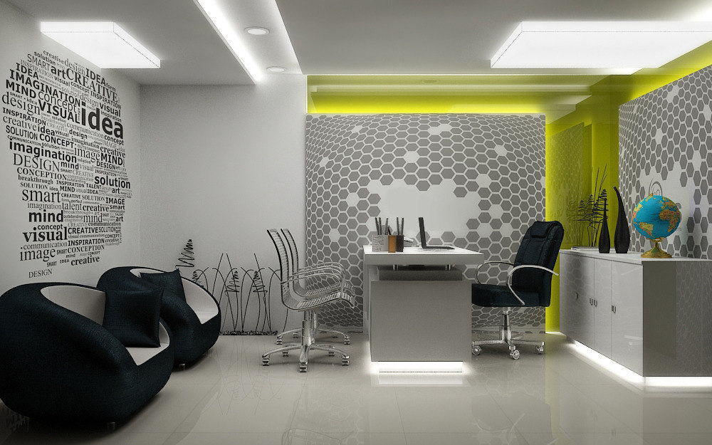 3d Dwg Realistic Office