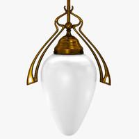 Vintage Corridor Lamp