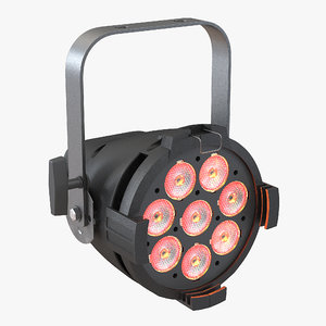colorsource led par 3d max