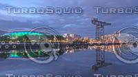 Glasgow harbour
