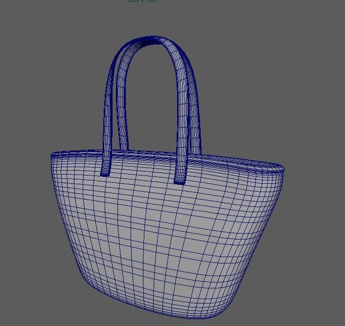 3d handbag model