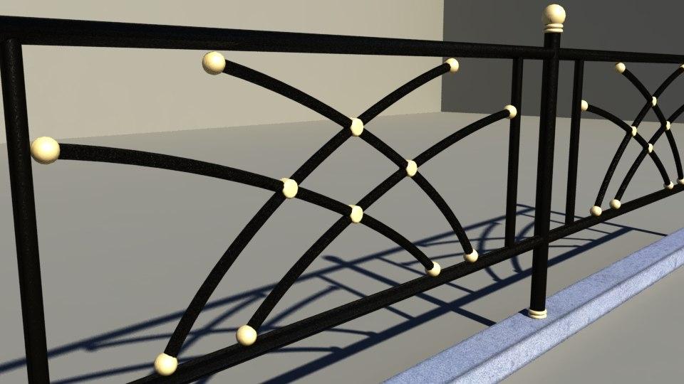 3d decorative fences
