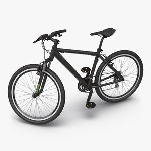 max mountain bike generic black