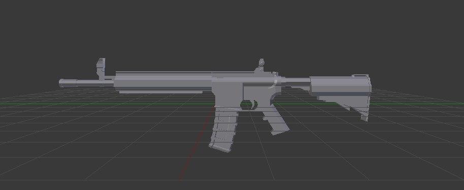 cm901 rifle 3d model