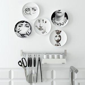 3d fashion decor kitchen model