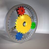 3ds planetary gear set