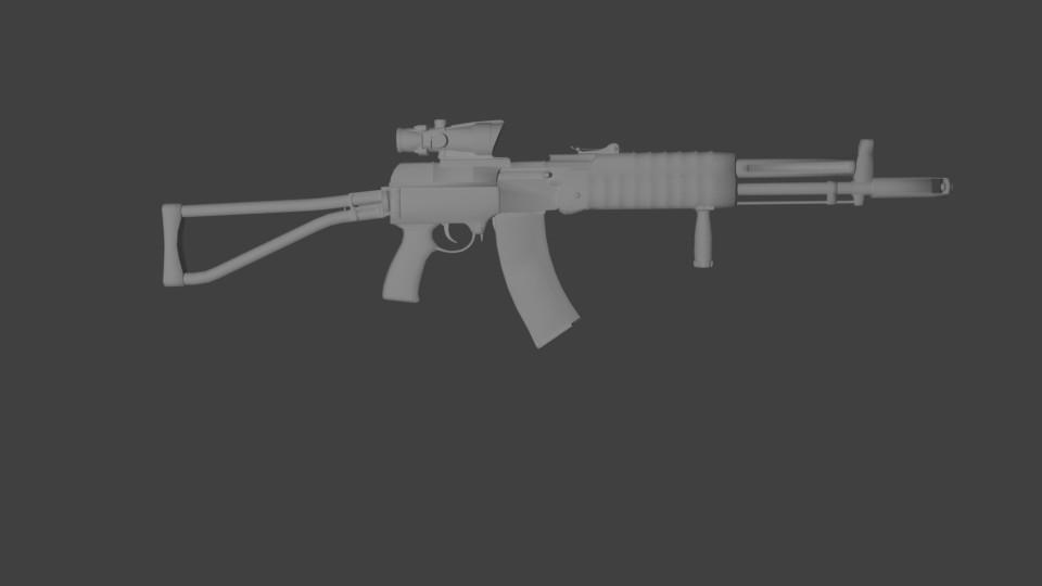 free obj mode aek 971 assault rifle