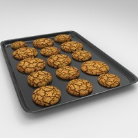 biscuit tray 3d model