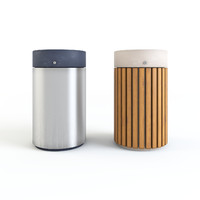 WAX Metalco Rainless Litter bin (Set 01)