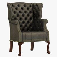 francesco molon armchair p82 3d model
