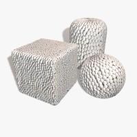 White Balls Seamless Texture