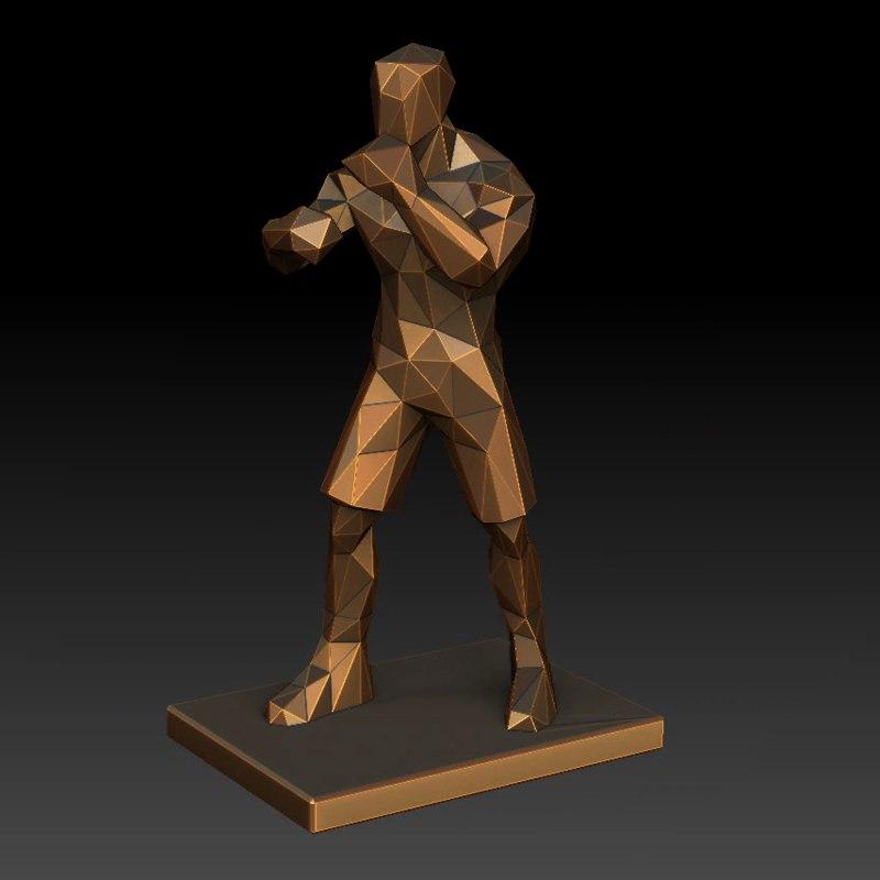 boxing trophy ma