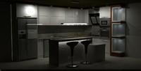 3d cabinet modern model