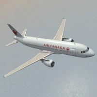 3d airbus air canada