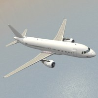 Airbus A320 Generic White