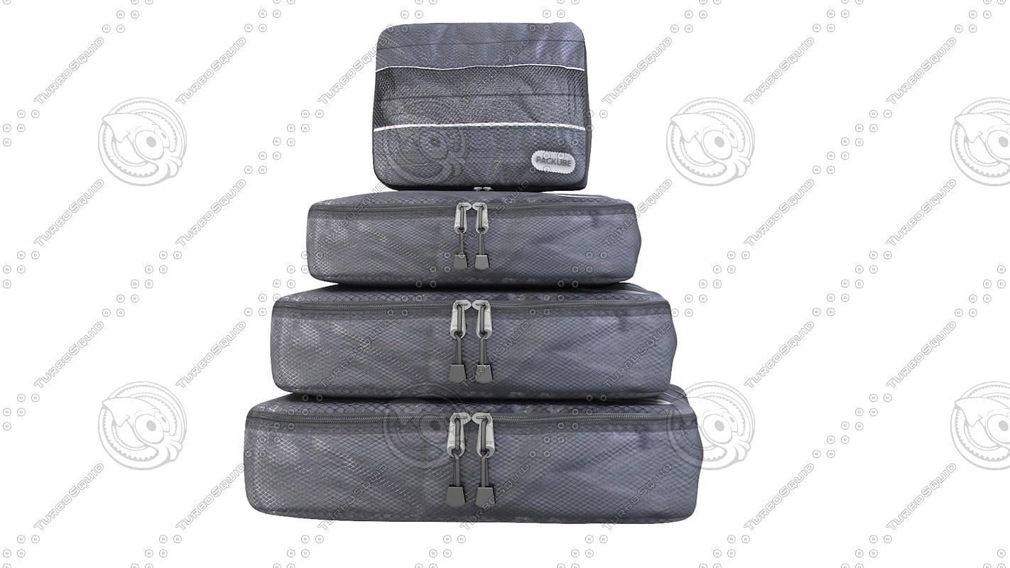bag pack 3d max