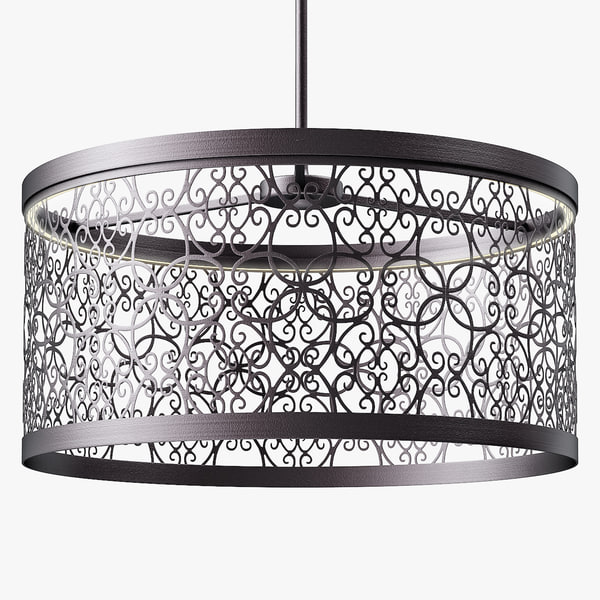3d arramore pendants 19 light model