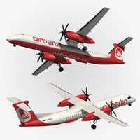 3d bombardier dash 8 q400 model