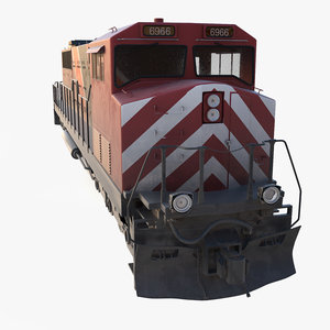 cargo train engine locomotive max