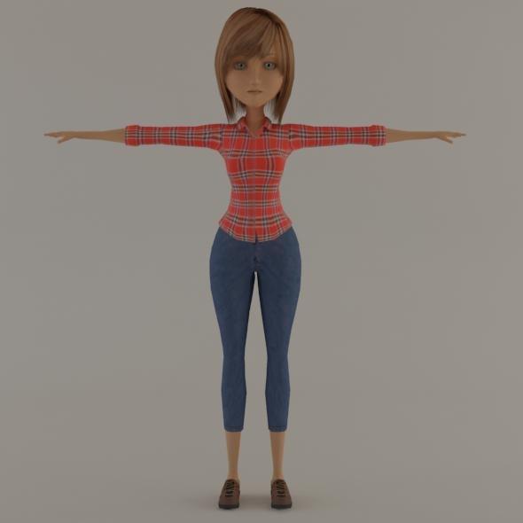 girl cartoon max