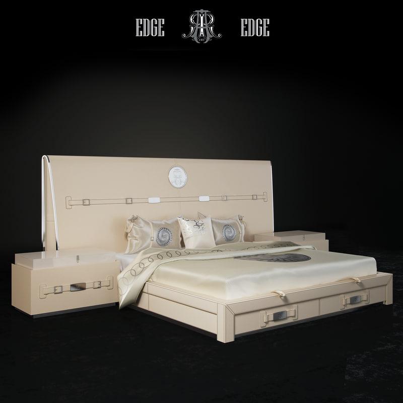 bed art 3d model