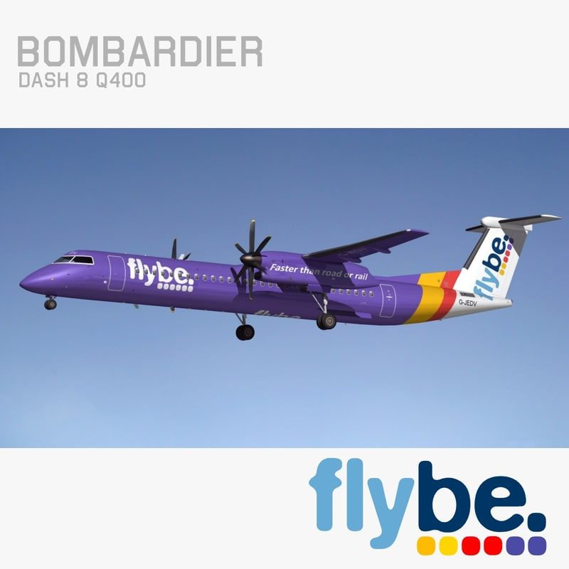 bombardier dash 8 flybe max