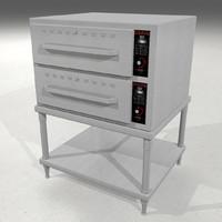 3d model restaurant heat hold