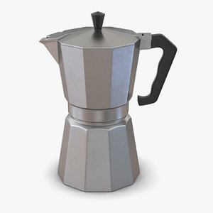 3d espresso maker model