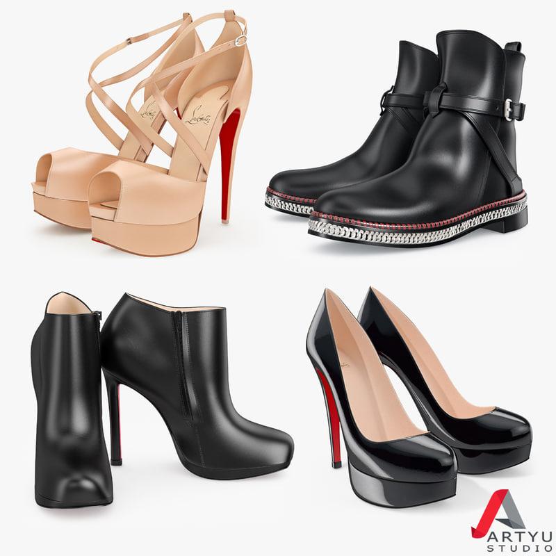shoes set louboutin max