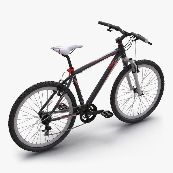 max mountain bike generic red
