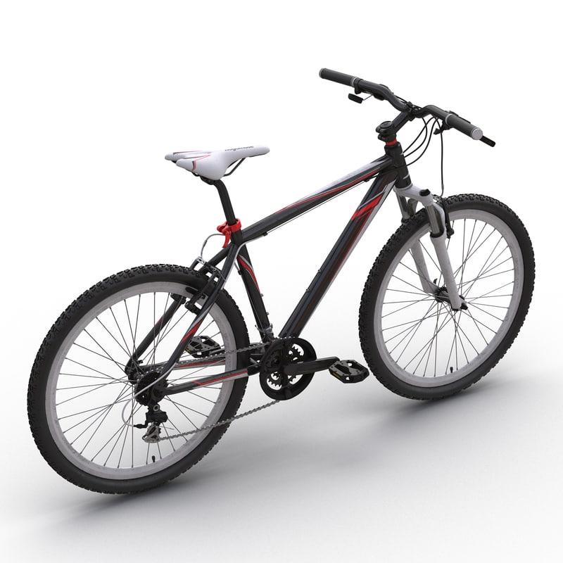 max mountain bike generic red