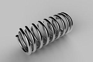 compression spring 3d model