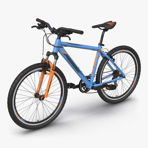 3ds mountain bike generic blue