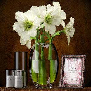 light vase photo 3d max